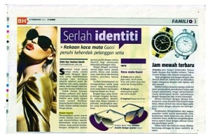 VS - Berita Harian 6 Feb 13