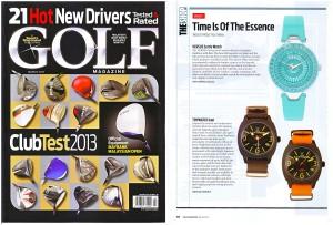 TY - Golf Magazine Mar 13