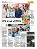 SWISS MILITARY HANOWA - The Star - Metro Biz - Wed 26 March 2014